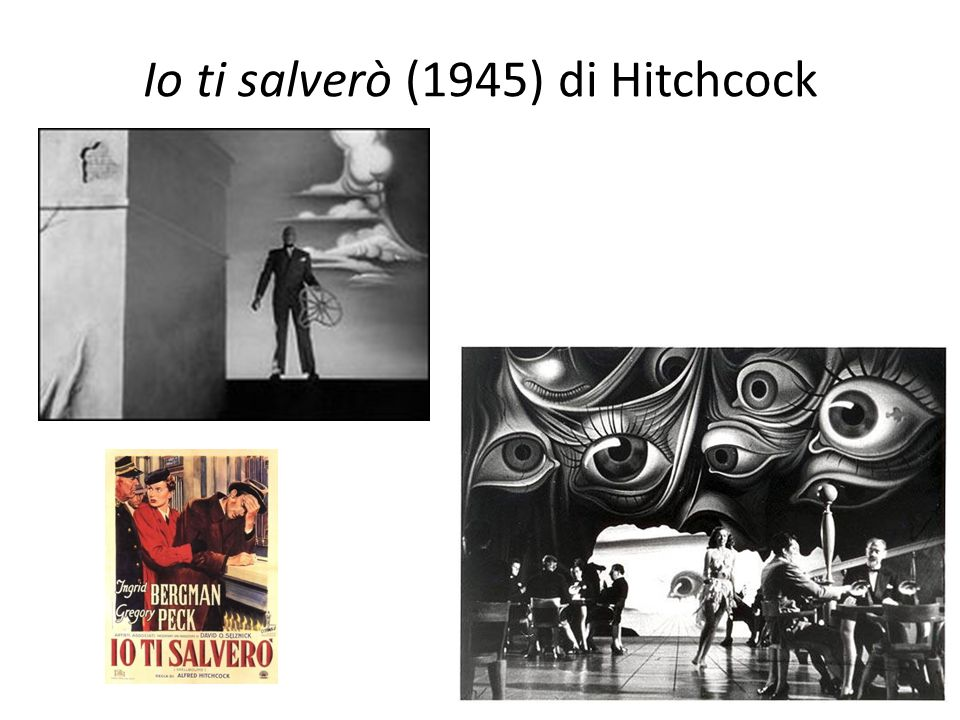 Io ti salverò (1945) di Hitchcock