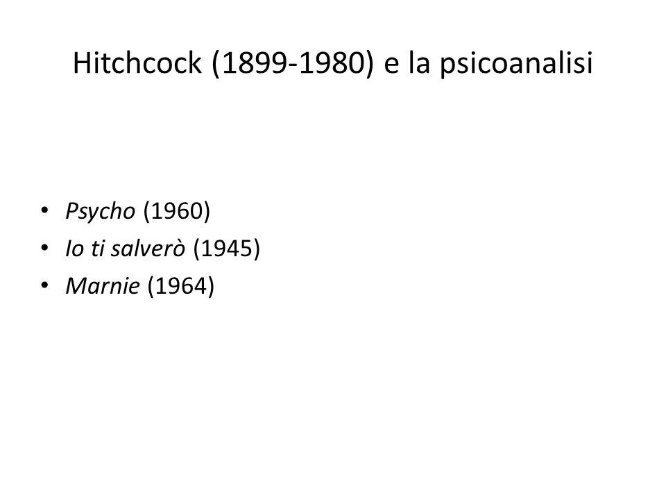 Hitchcock (1899-1980) e la psicoanalisi