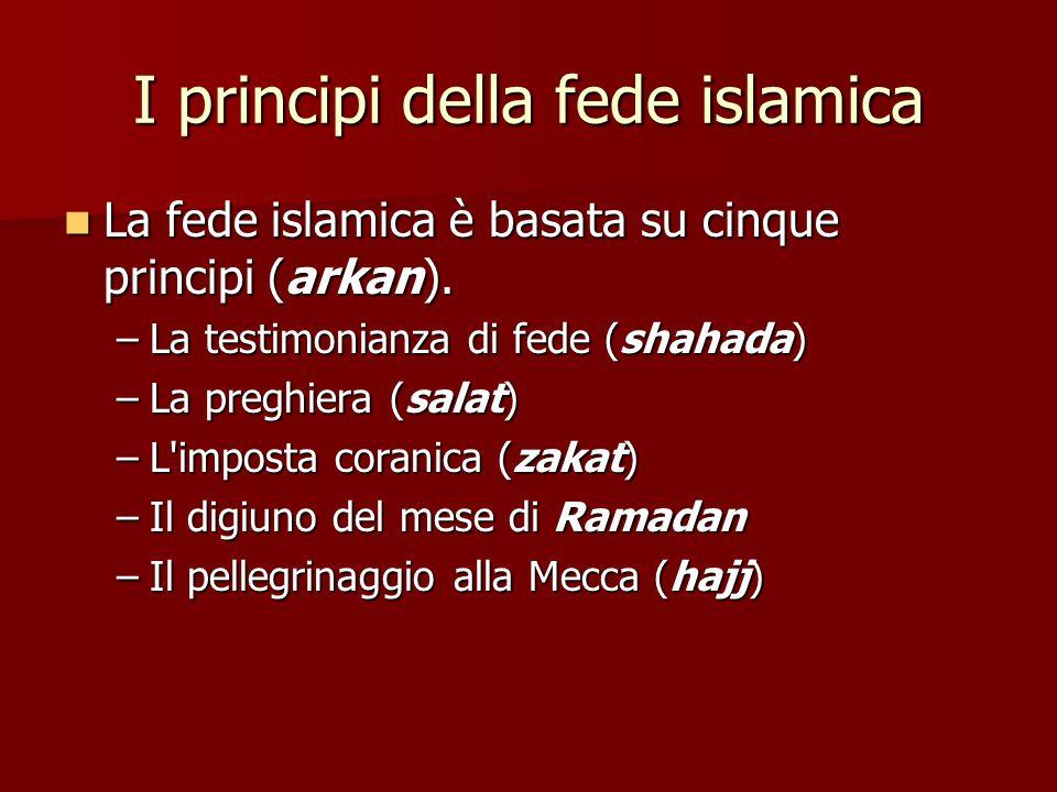I principi della fede islamica