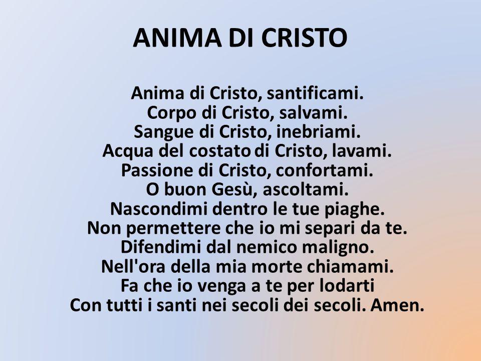 ANIMA DI CRISTO