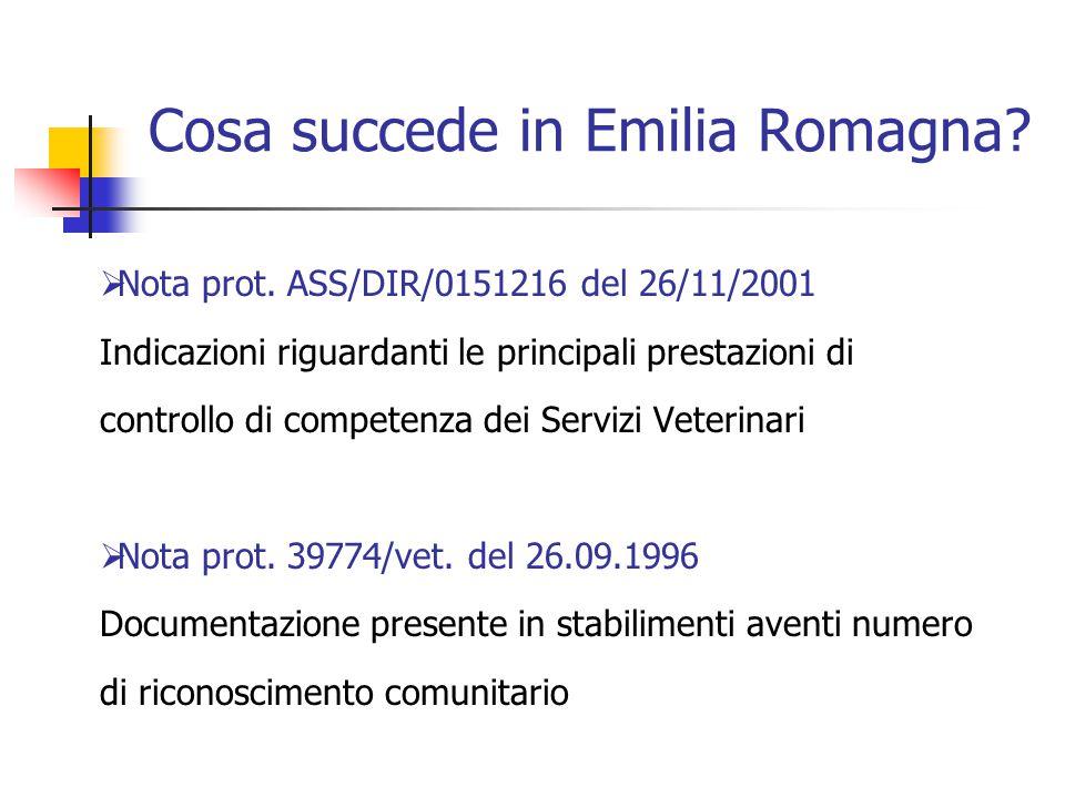 Cosa succede in Emilia Romagna
