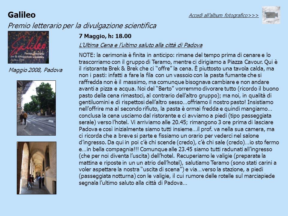 L'Ultima Cena e l'ultimo saluto alla città di Padova