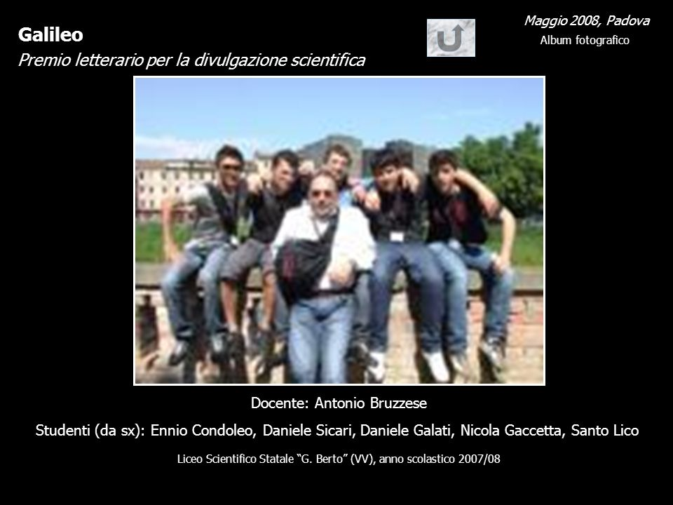- Docente: Antonio Bruzzese
