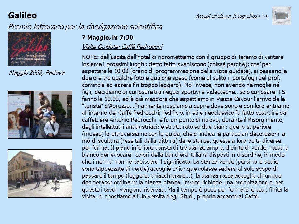 Visite Guidate: Caffè Pedrocchi