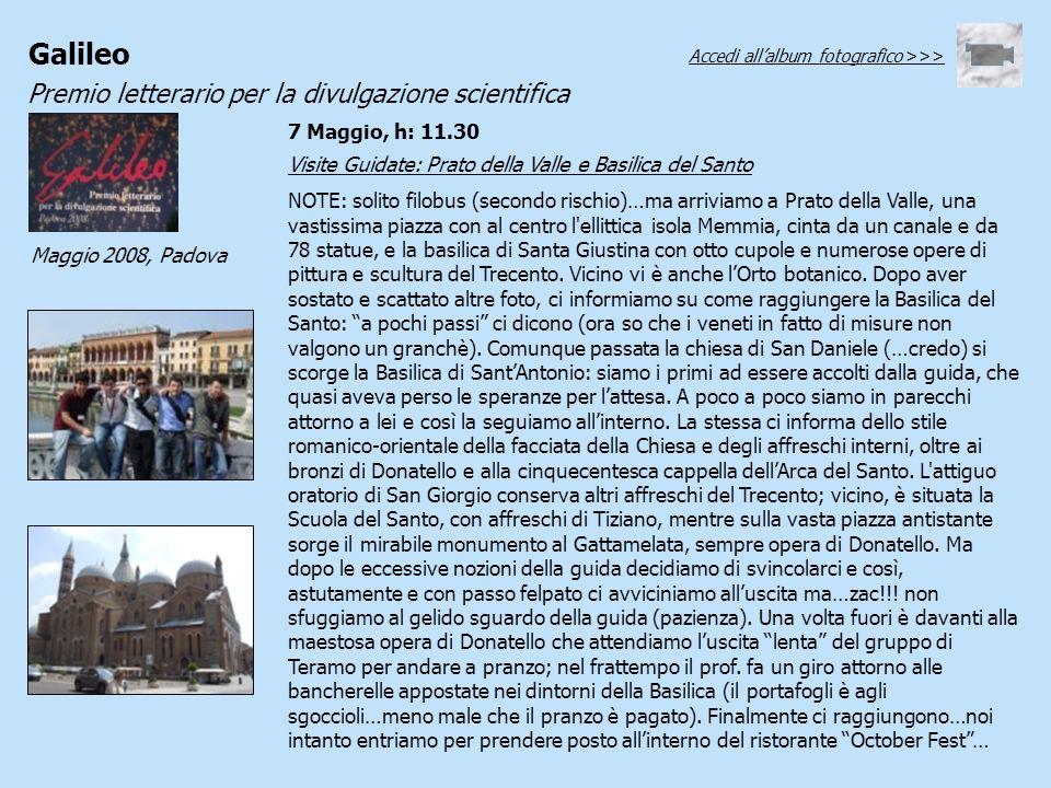 Visite Guidate: Prato della Valle e Basilica del Santo