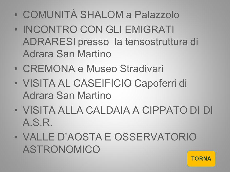 COMUNITÀ SHALOM a Palazzolo