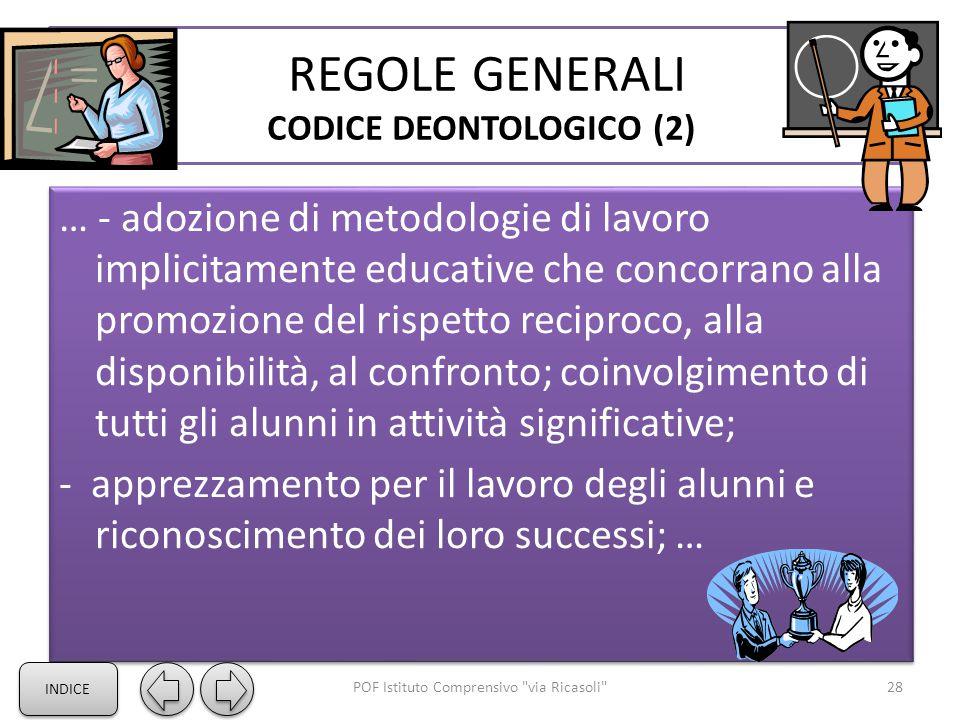REGOLE GENERALI CODICE DEONTOLOGICO (2)