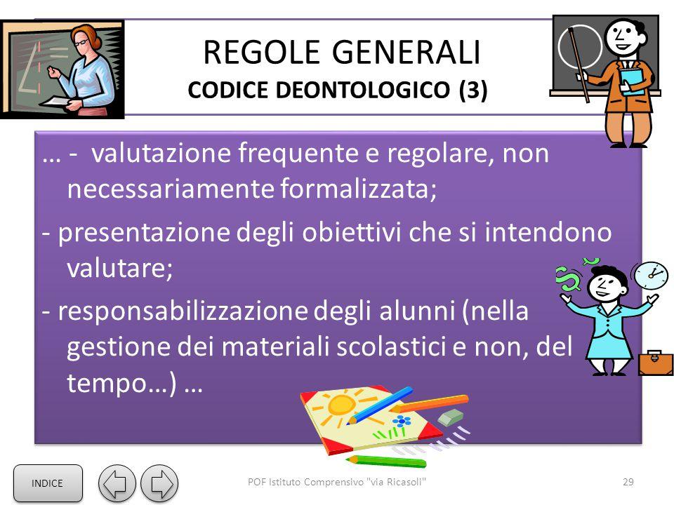 REGOLE GENERALI CODICE DEONTOLOGICO (3)