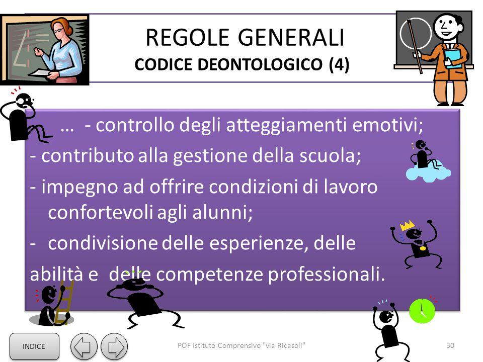 REGOLE GENERALI CODICE DEONTOLOGICO (4)
