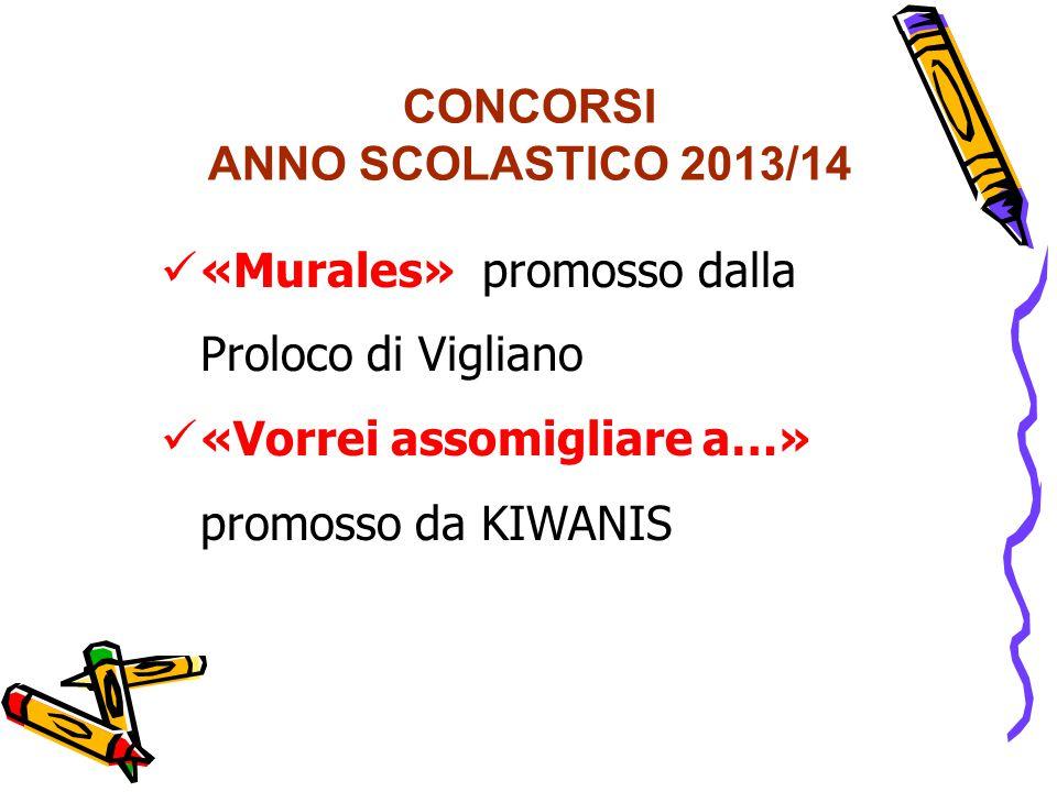 CONCORSI ANNO SCOLASTICO 2013/14