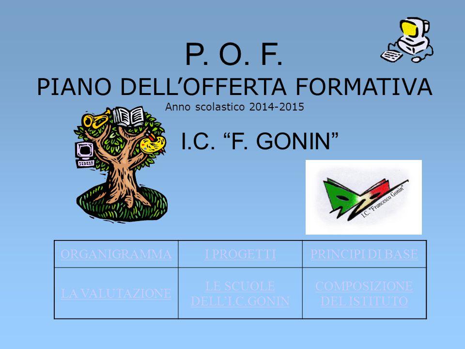 P. O. F. PIANO DELL'OFFERTA FORMATIVA