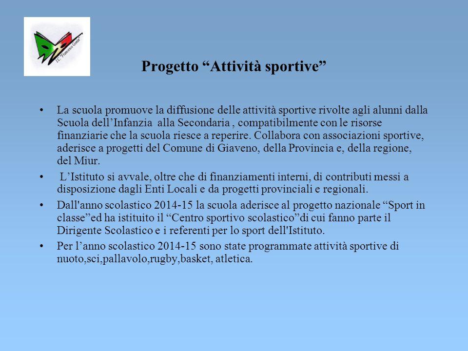 Progetto Attività sportive