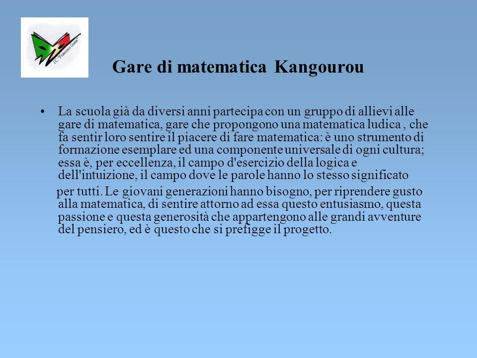 Gare di matematica Kangourou