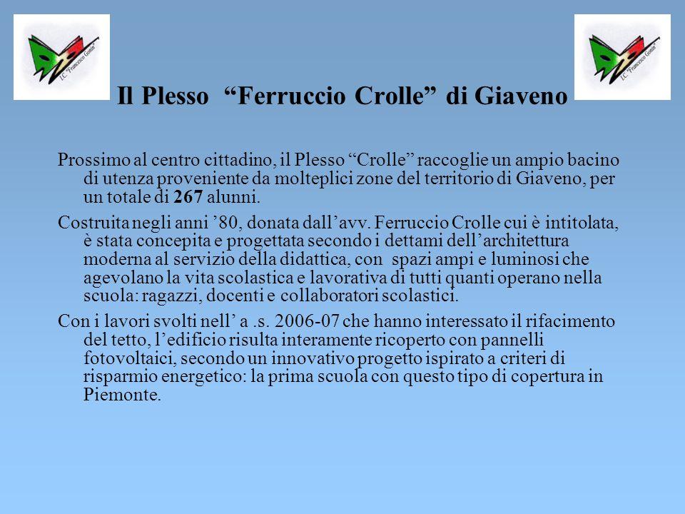 Il Plesso Ferruccio Crolle di Giaveno