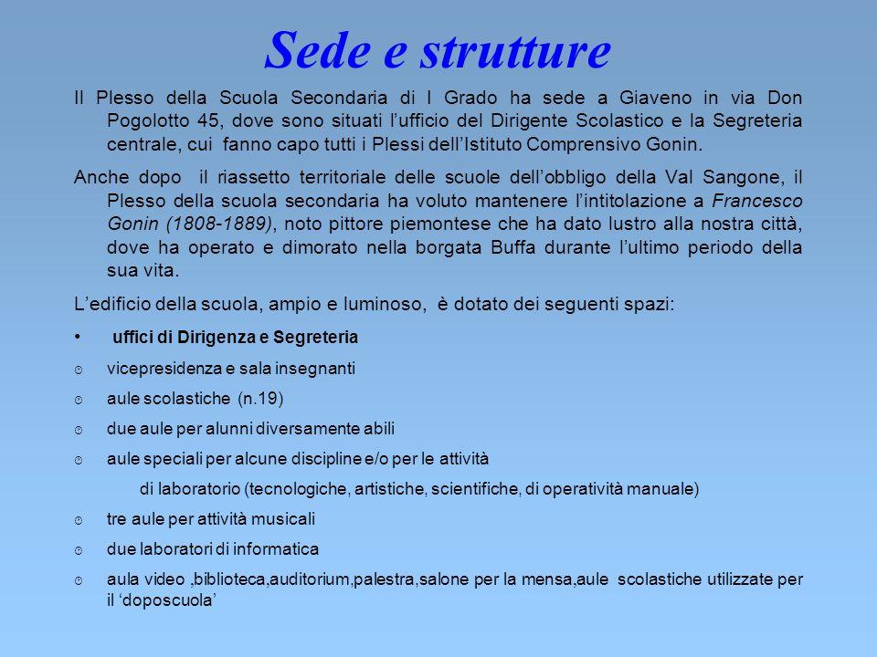 Sede e strutture