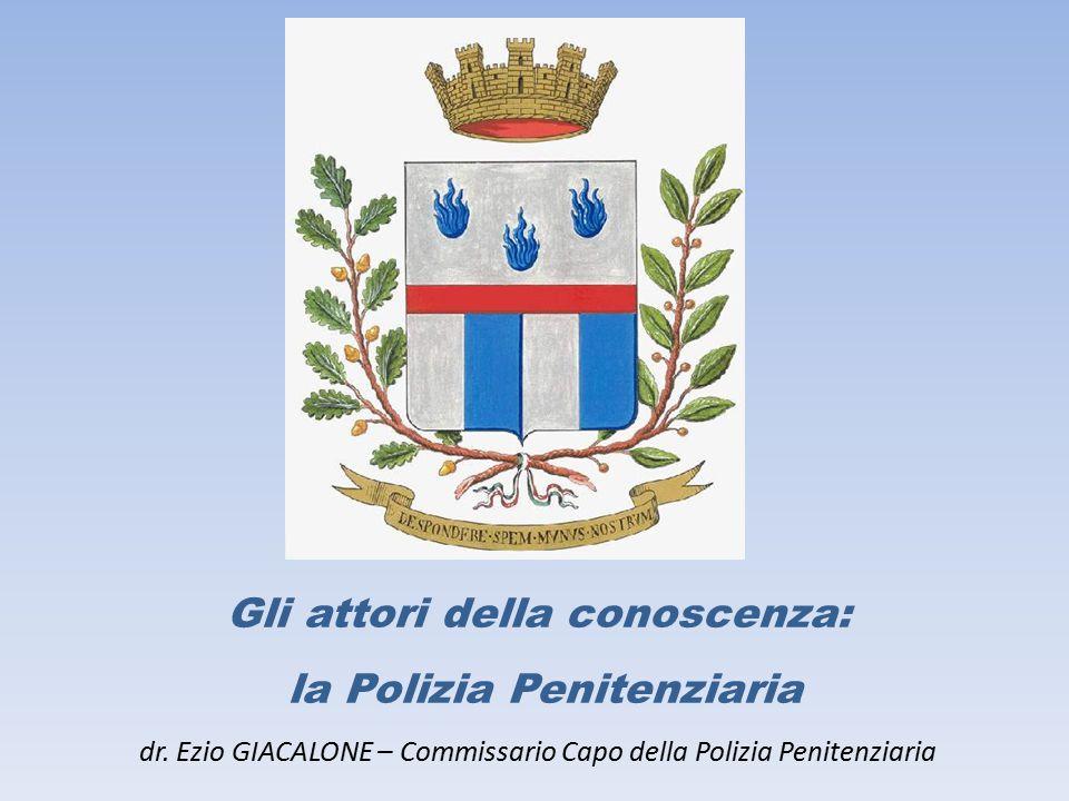 Gli attori della conoscenza: la Polizia Penitenziaria dr
