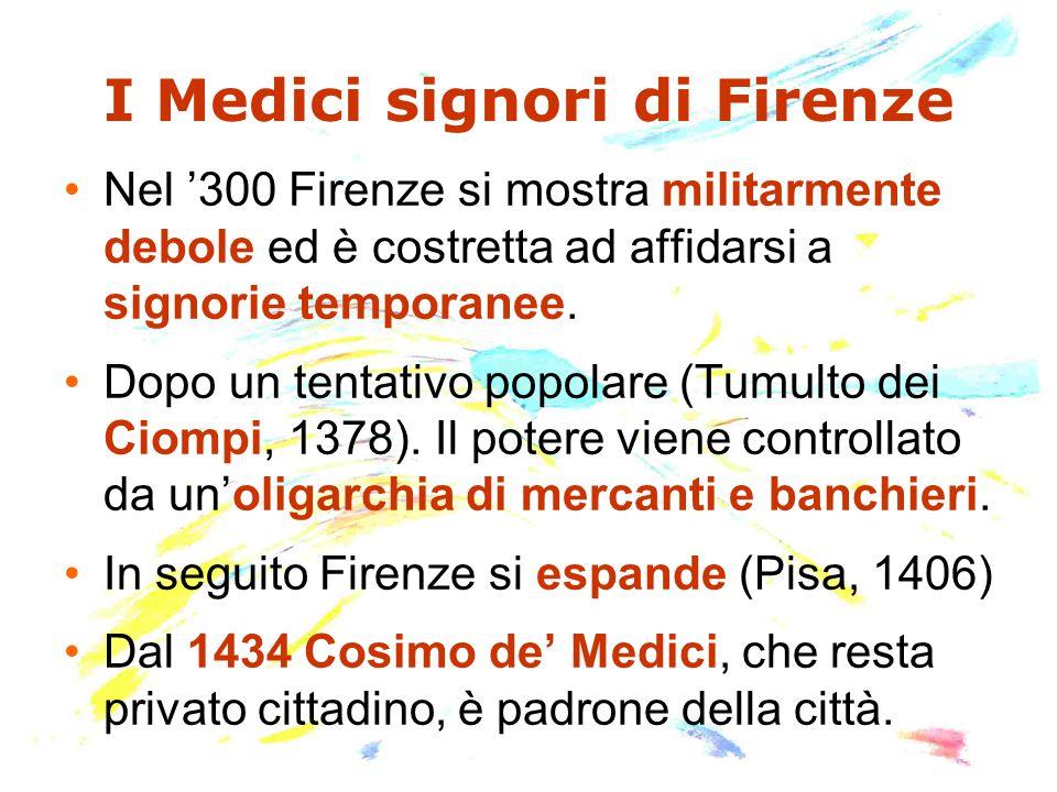 I Medici signori di Firenze
