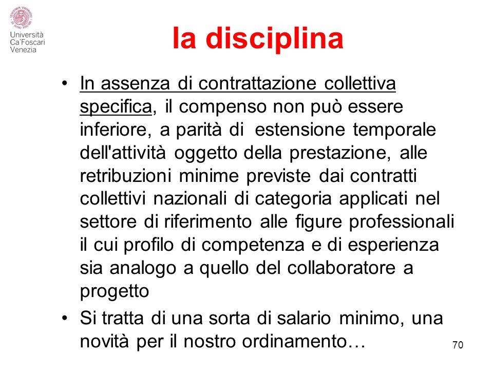 la disciplina