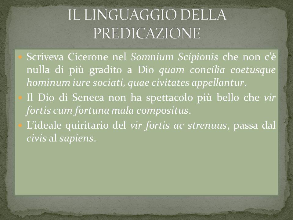 IL LINGUAGGIO DELLA PREDICAZIONE