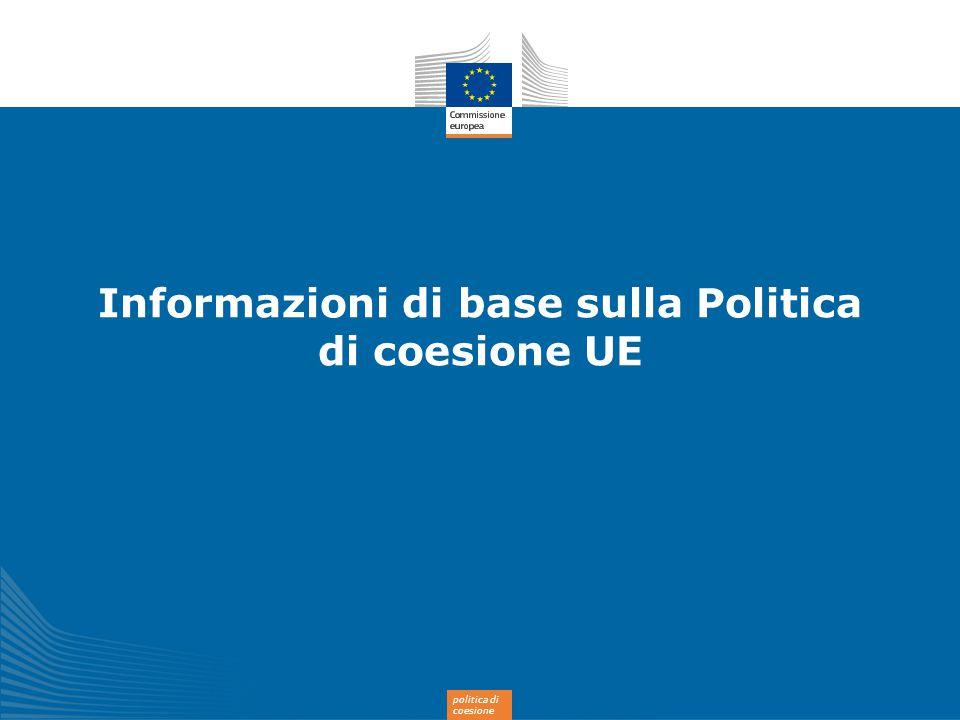 Informazioni di base sulla Politica di coesione UE