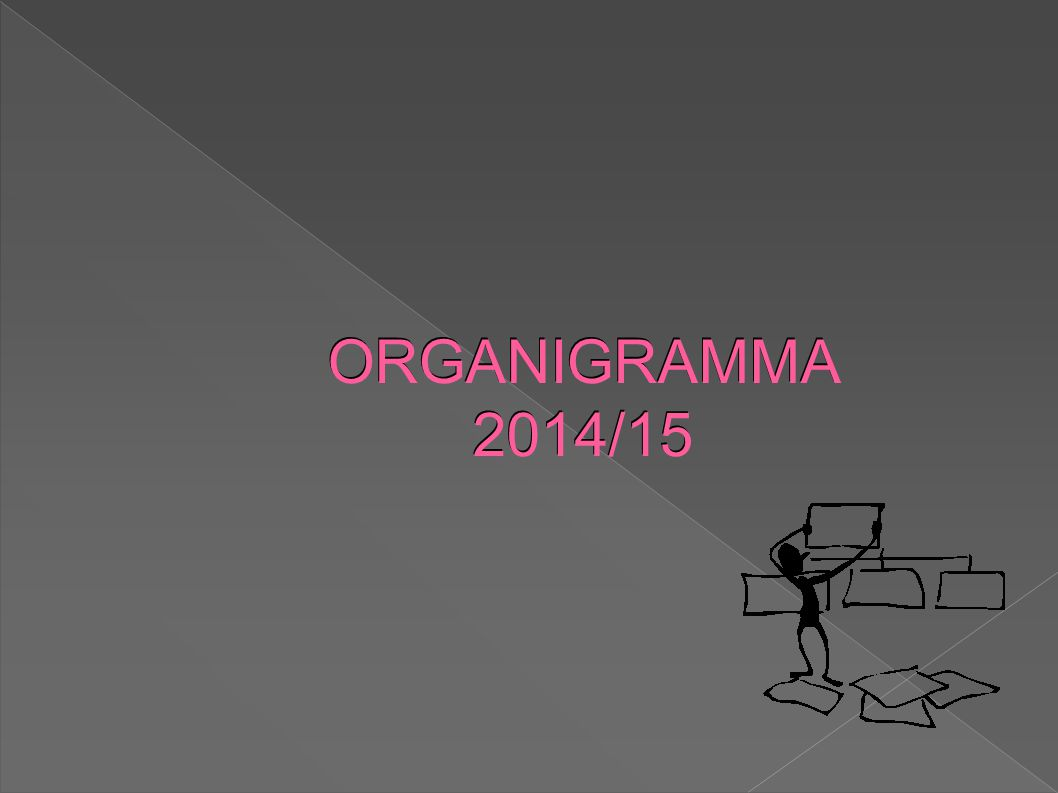 ORGANIGRAMMA 2014/15