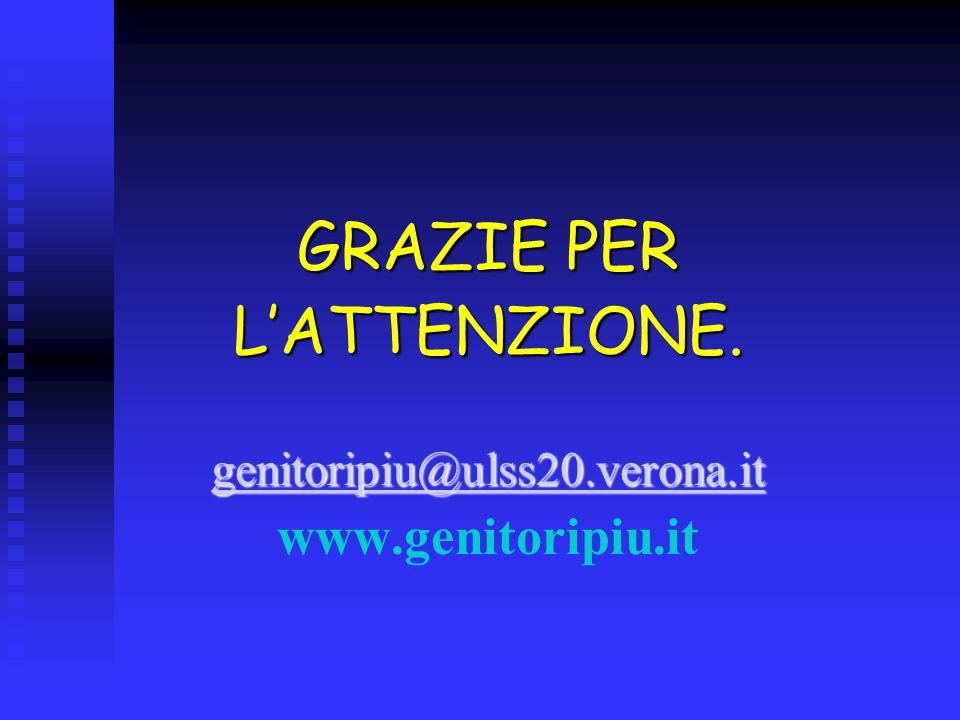 GRAZIE PER L'ATTENZIONE. www.genitoripiu.it