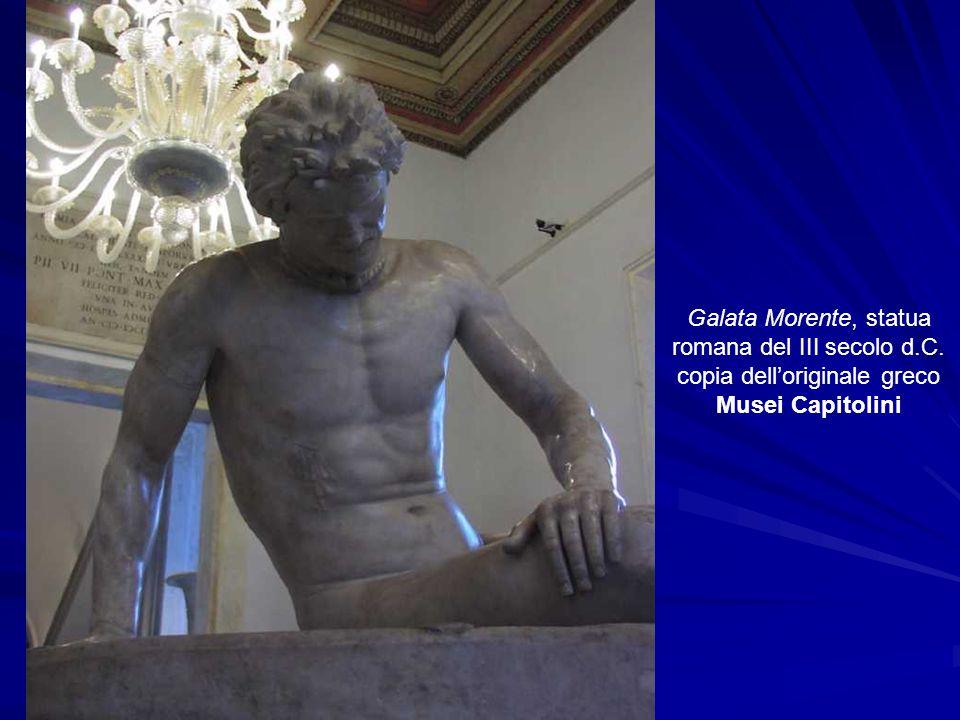 Galata Morente, statua romana del III secolo d. C