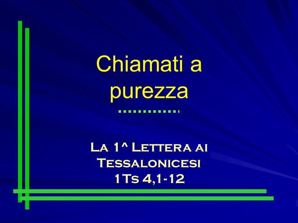 La 1^ Lettera ai Tessalonicesi