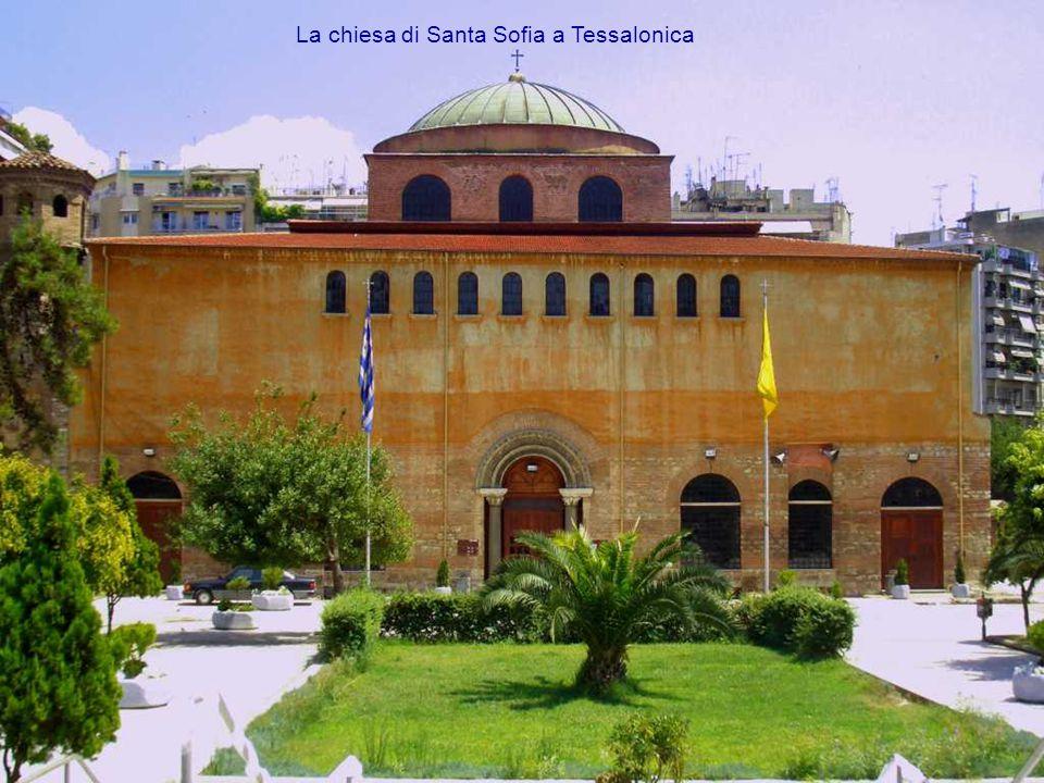 La chiesa di Santa Sofia a Tessalonica