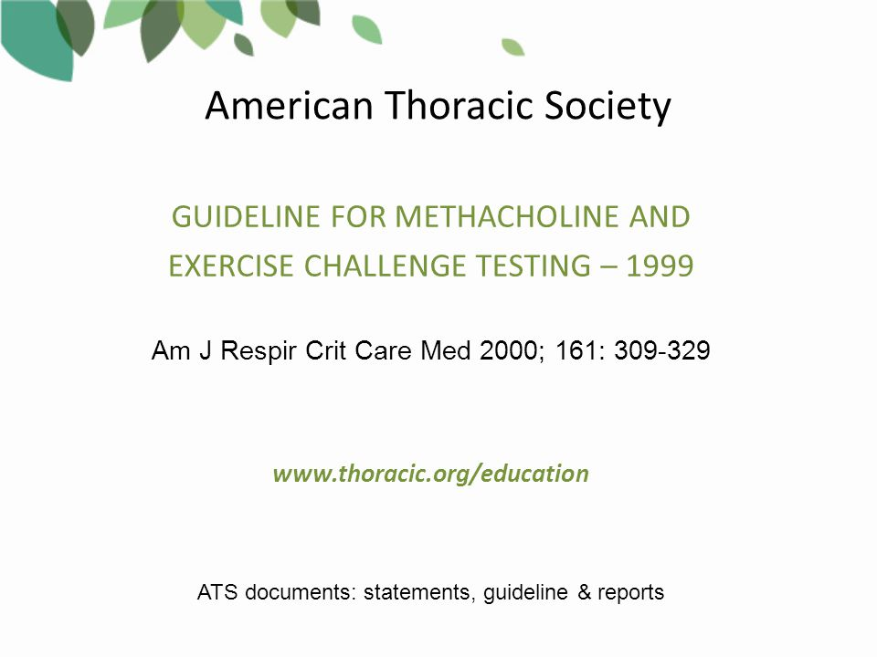 American Thoracic Society