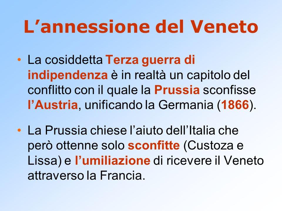 L'annessione del Veneto