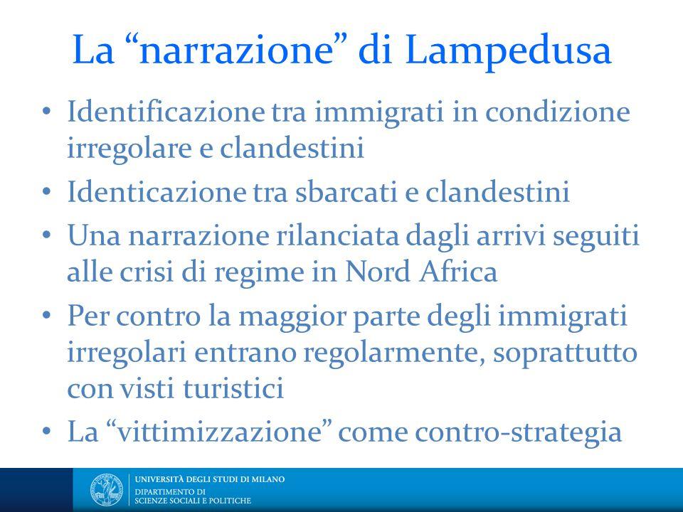 La narrazione di Lampedusa