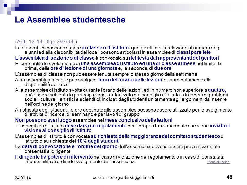 Le Assemblee studentesche