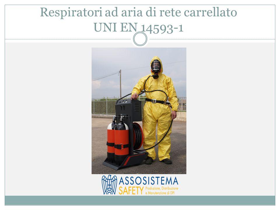 Respiratori ad aria di rete carrellato UNI EN 14593-1