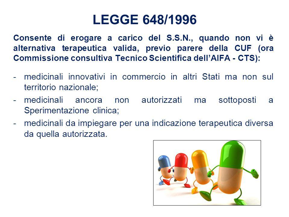 LEGGE 648/1996