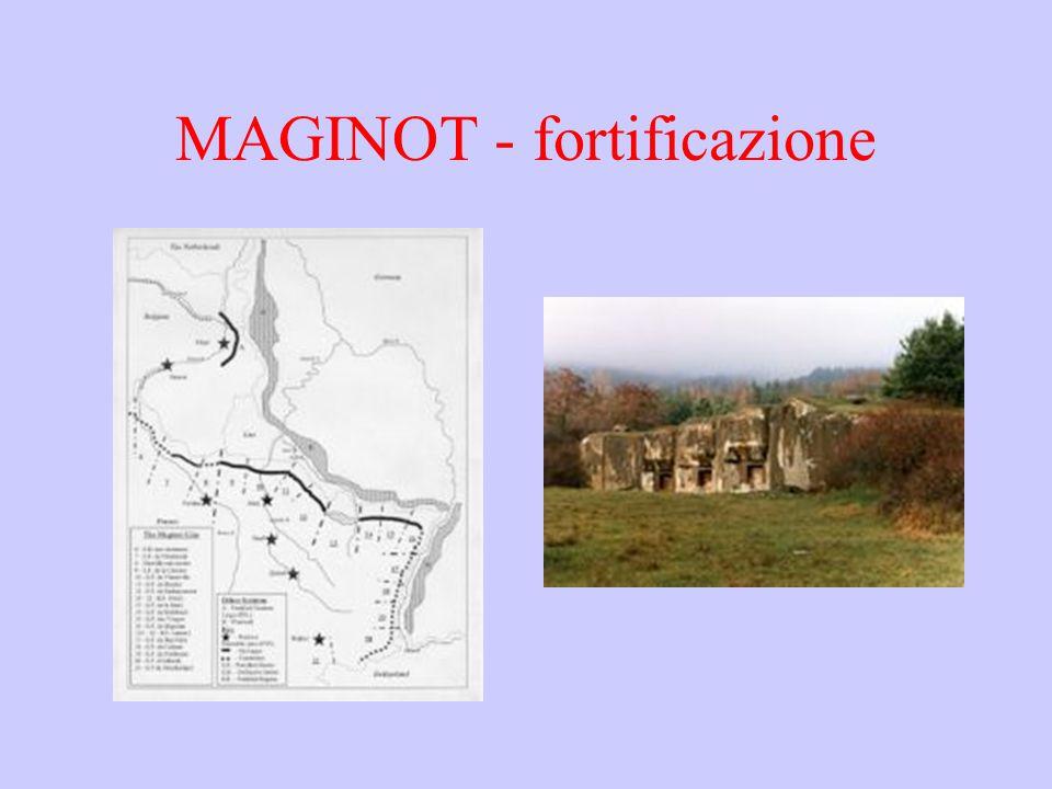 MAGINOT - fortificazione