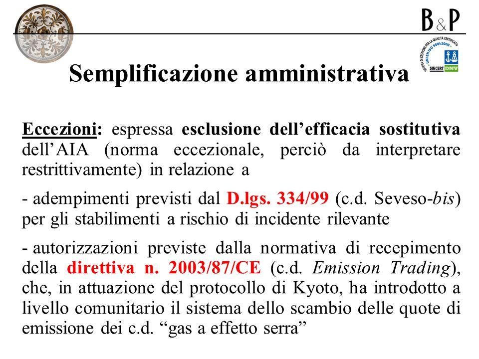 Semplificazione amministrativa