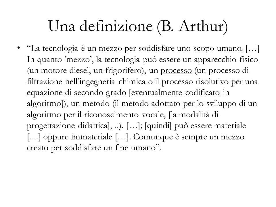 Una definizione (B. Arthur)