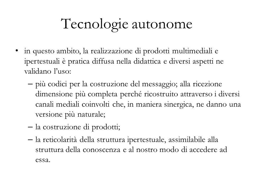Tecnologie autonome