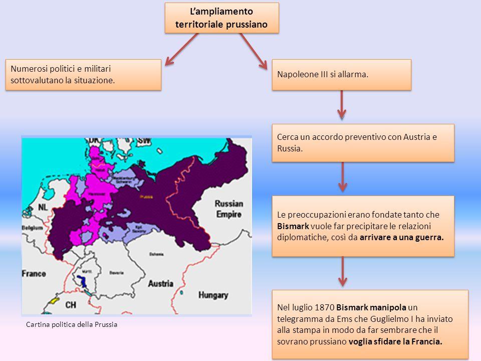 L'ampliamento territoriale prussiano
