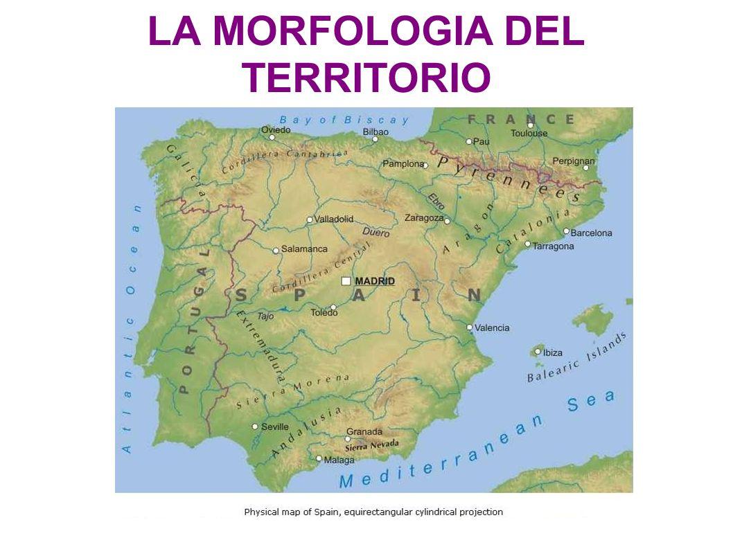 LA MORFOLOGIA DEL TERRITORIO