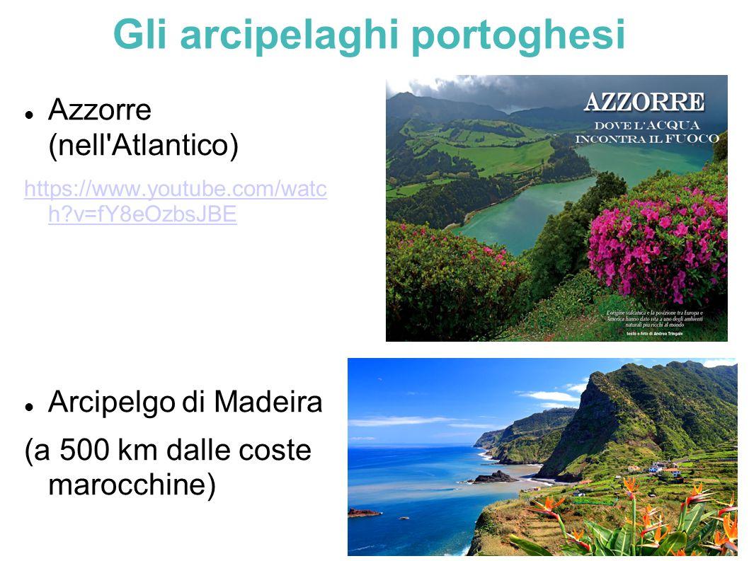 Gli arcipelaghi portoghesi