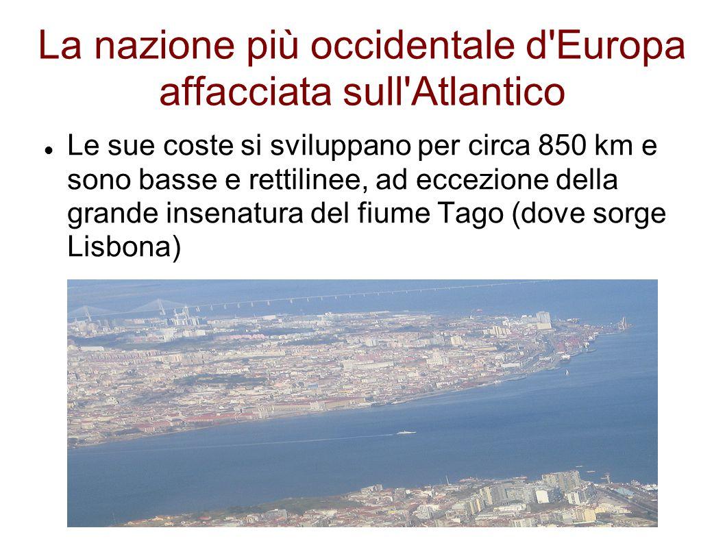La nazione più occidentale d Europa affacciata sull Atlantico