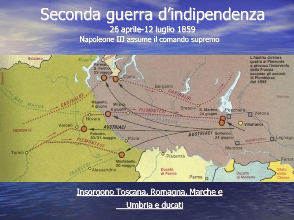 Seconda guerra d'indipendenza 26 aprile-12 luglio 1859