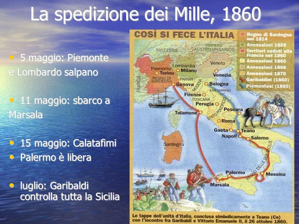 La spedizione dei Mille, 1860