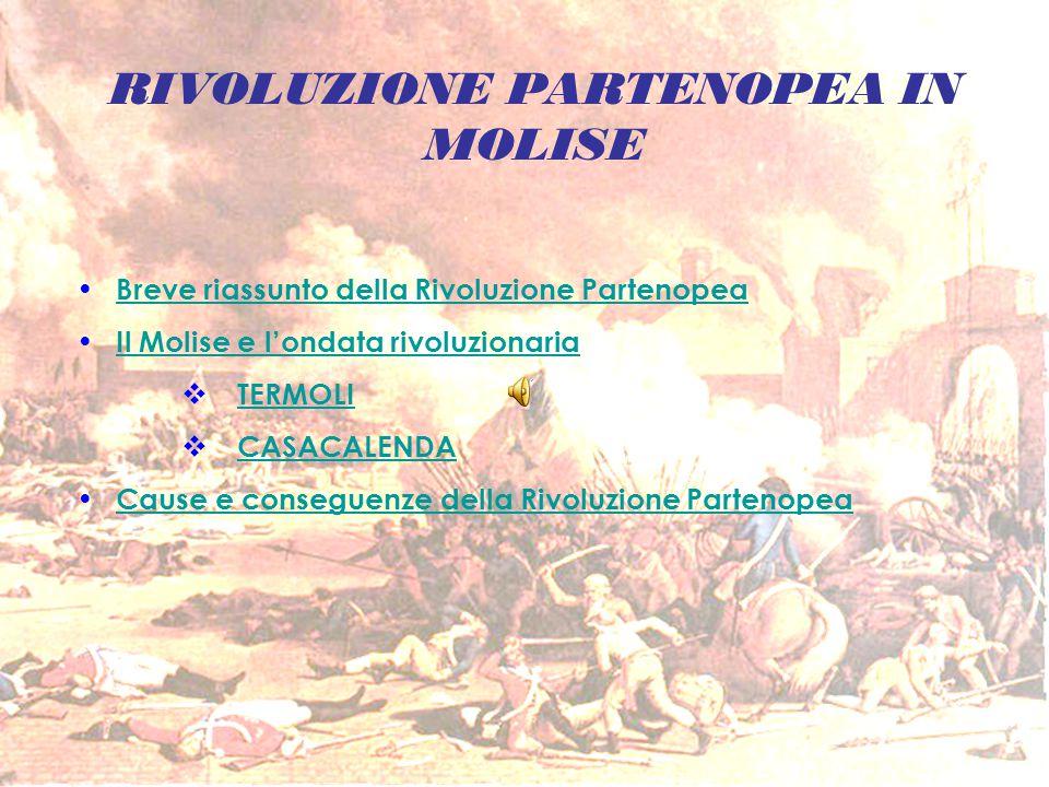 RIVOLUZIONE PARTENOPEA IN MOLISE
