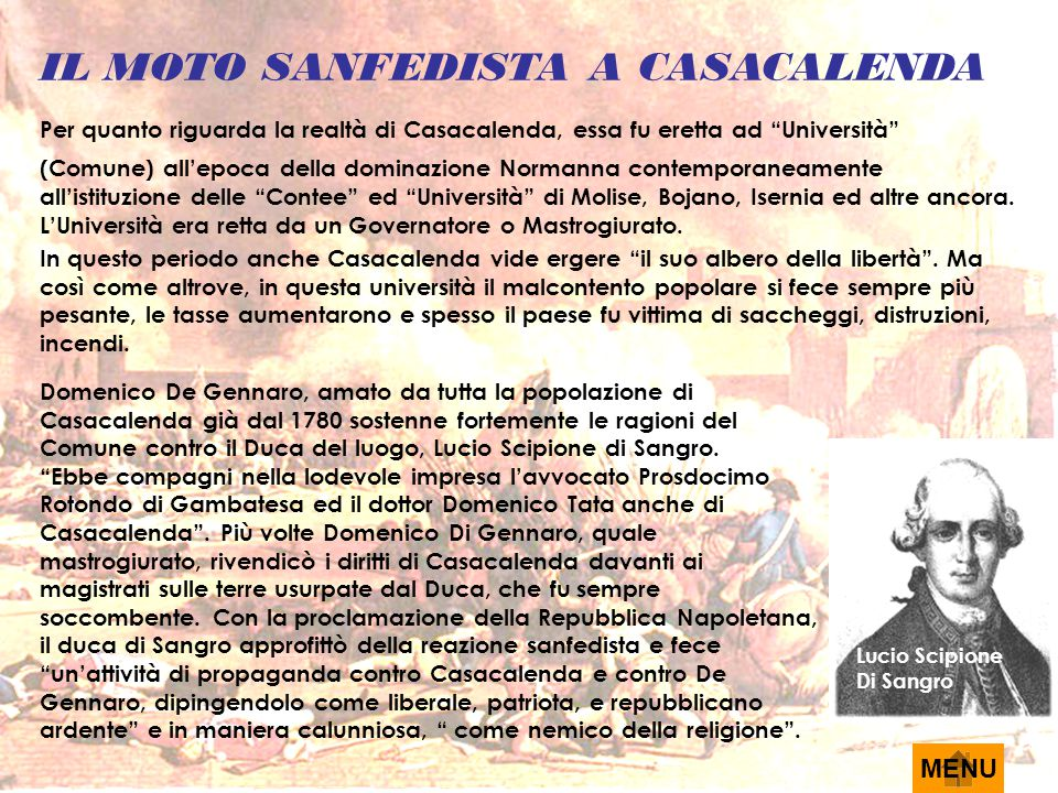 IL MOTO SANFEDISTA A CASACALENDA