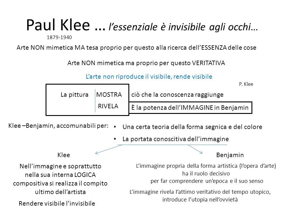 Paul Klee … l'essenziale è invisibile agli occhi…