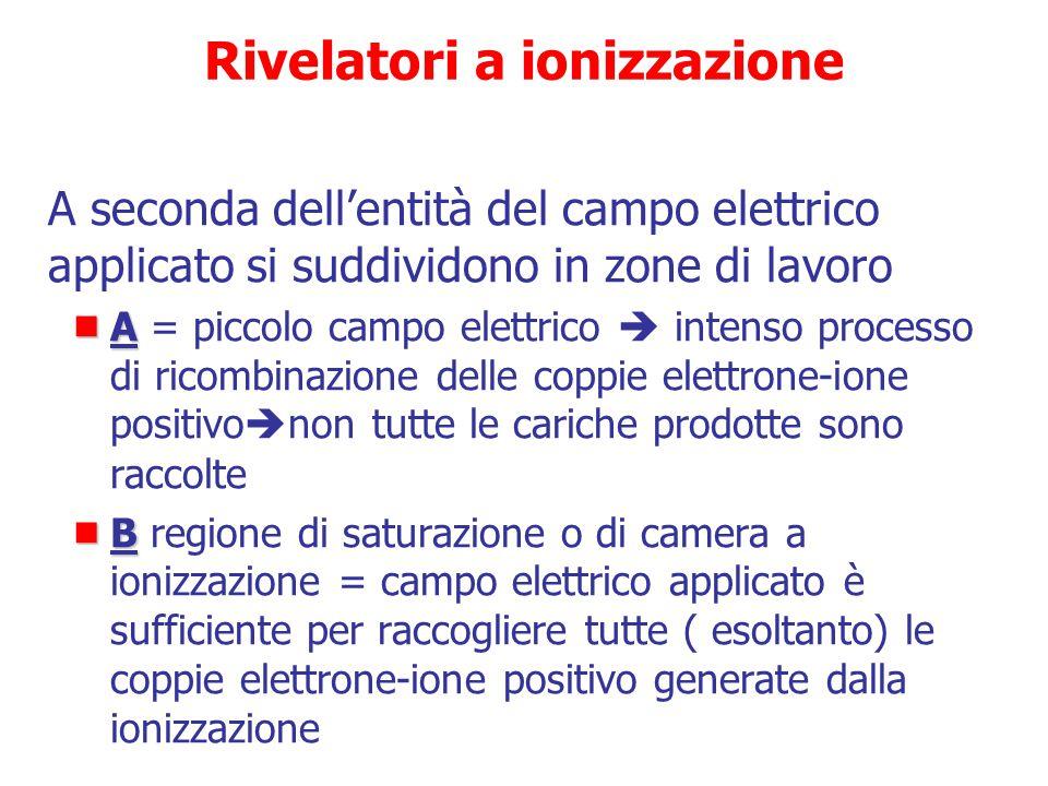 Rivelatori a ionizzazione
