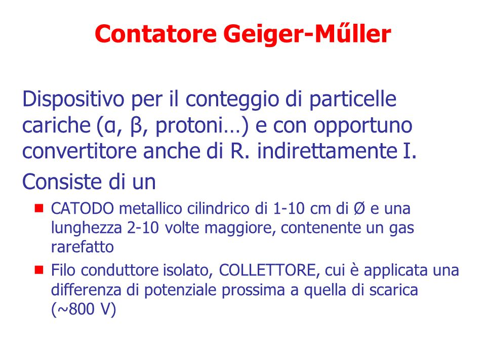 Contatore Geiger-Műller